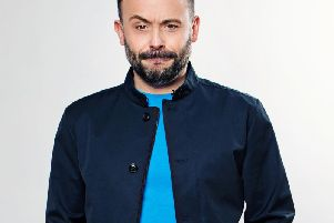 Geoff Norcott is live in Lincoln this month. Photo: Julian Hall.