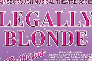 Gainsborough Musical Theatre Society is presenting Legally Blonde this summer.