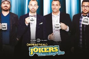 WIN a pair of tickets to Impractical Jokers' UK tour