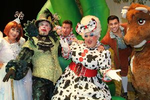 Win family ticket for panto