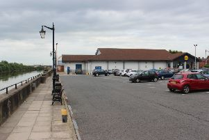 The car park at the former Lidl supermarket in Gainsborough is to be used for pay and display parking.