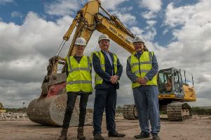 VIDEO: Multi-million pound retail development at the former Vesuvius factory site in Worksop begins to take shape