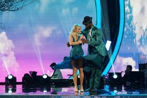 Evanna Lynch on ABC's Dancing With The Stars.