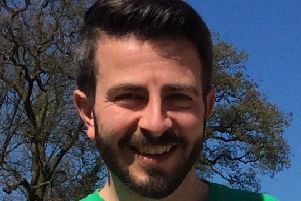 Jamie Davenport, Macmillan fundraising manager for Lincolnshire