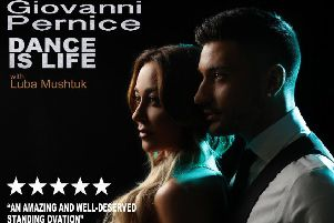 Giovanni Pernice brings his new show to the Baths Hall in March