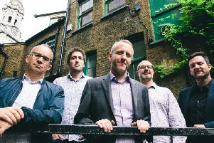 The John Turville Quintet is live in Lincoln this month