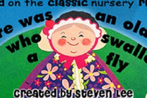 There Was An Old Lady Who Swallowed a Fly comes to Gainsborough this month