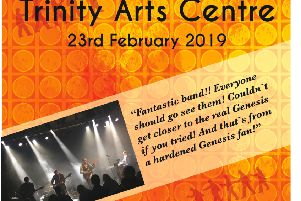 Genesis tribute band Mama are live in Gainsborough this month