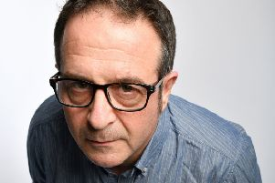 Mark Thomas brings his new live show to Lincoln next month. Photo: Steve Ullathorne