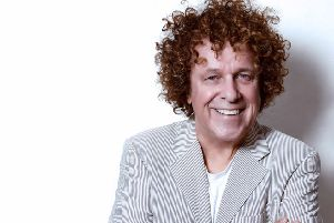 Leo Sayer is live at the Baths Hall this summer