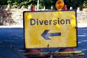 Signed diversion routes will be in place during the improvement works.