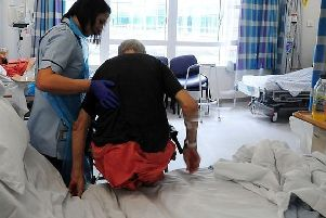 Bed-blocking in hospitals is becoming a concern for some within the Lincolnshire region.