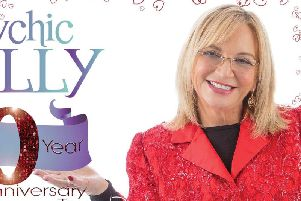 Psychic Sally brings her live tour to Lincolnshire next week.