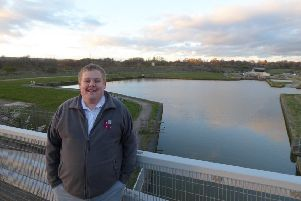 George Rogers, new development manager at Chesterfield Canal Trust.