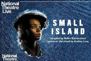 Small Island is being shown live from London at Trinity Arts this week for NT Live.