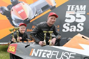 Team SaS — the sidecar racing Staintons — claim two race wins at Snetterton