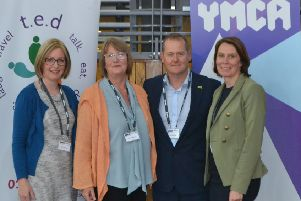 Gail Jackson - CEO Community Lincs; Lorraine Bellis ' Chair of the Board of Trustees at Community Lincs; Ian Sackree ' Chairman of YMCA Lincolnshire; and Caroline Killeavy, CEO YMCA Lincolnshire.