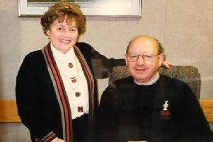 Roy and Pat Freeman in the 1970s.