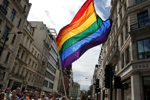 The number of same-sex marriages in Lincolnshire has risen