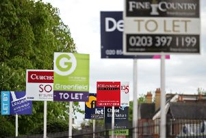 Private rents are costing families a fifth of their salary each year.