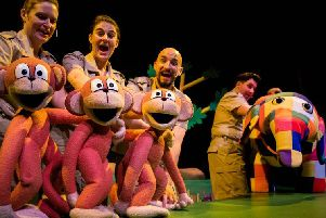 Elmer The Patchwork Elephant comes to the New Theatre Royal Lincoln this week.