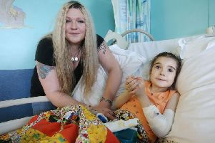 Kate Hewitt, 38 and her daughter Willow-Blue OShea.