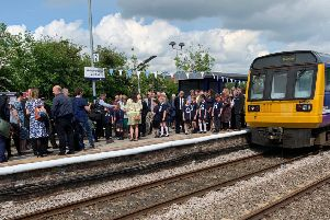 The new rail service from Gainsborough Central launched earlier this year.