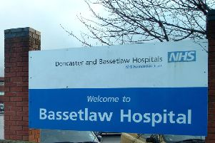 w70117-5b'Bassetlaw Hospital, Carlton Road, Worksop.