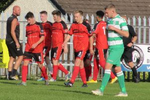 Garstang claimed victory by the odd goal in seven at Cleator Moor Celtic