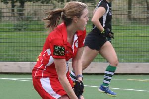 Lyndsey Hayes in action for Garstang