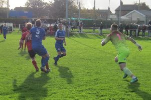 Garstang lost against FC Oswestry Town at the Riverside on Saturday