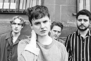 Glasgow band Declan Walsh and the Decadent West are travelling the UK on their debut album tour Picture: Neelam Khan Vela