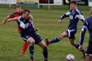 Garstang were beaten on Saturday as they lost at home to AFC Darwen'Picture: Steve Beesley