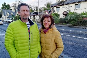 Mark Warren and Rosemary McLean are amongst the Barton residents unwilling to call time on their former local