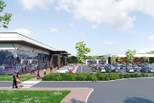How the Cottam Brickworks 'district centre' could look when completed.