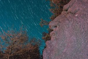 Star trails seen from Beacon Fell (photo: Robert Ince)