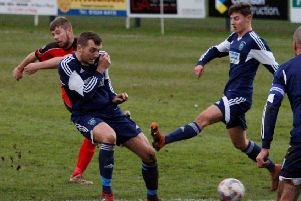 Garstang FC need to pull away from the wrong end of the table      Picture: Steve Beesley