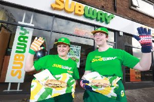 Subway is running its 'Gloves for Subs' appeal again