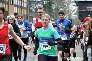 Runners set off for the Garstang 10k