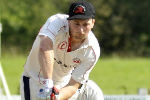 Michael Walling hit 43 for Garstang last weekend