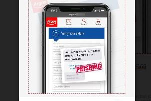 The alleged text message being sent to residents in an attempt to steal their personal details (Picture: Action Fraud)