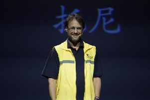 Tony Day at the Ted talk in China last year
