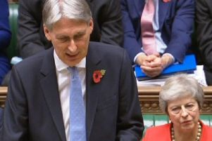 Philip Hammond in the Commons