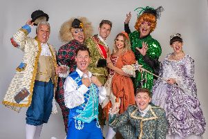 Phil Walker and cast will be delighting audiences with their fairy tale adventure Cinderella at Preston Charter Theatre throughout Christmas week until January 3