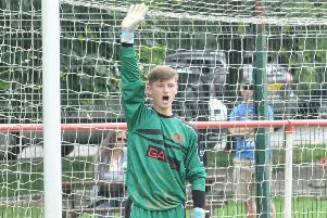 Garstang keeper Will Kitchen saved yet another penalty on Saturday as they defeated Bacup Borough