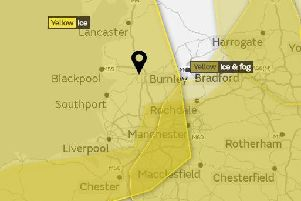 Yellow warnings for ice are in place for later today