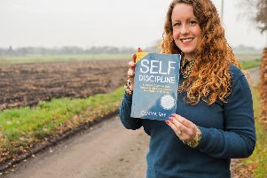 Gemma Dee Ray with her new book 'Self Discipline'