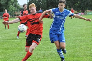 Ric Coar scored a hat-trick in Garstang's victory on Saturday