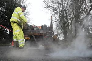 Dozens of roads will be resurfaced or have a new 'surface dressing' added