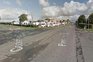 A silver hatchback collided with a young cyclist in Lancaster New Road at around 4.10pm on Monday, March 4.'The same vehicle then continued along Croston Road where it collided with a dog that was running loose.